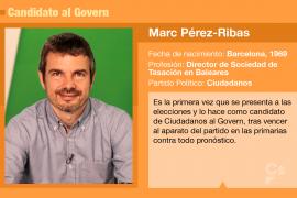 Marc Pérez-Ribas, un candidato muy implicado en la sociedad civil