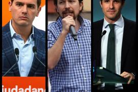 Atresmedia confirma que Casado, Iglesias y Rivera acudirán a su debate el día 23