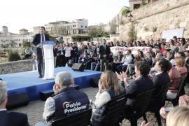 Pablo Casado, en Palma: «No voy a permitir que os conviertan en un apéndice de los Països Catalans»