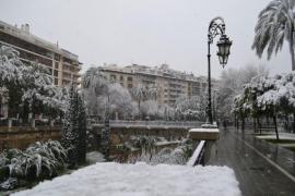 una nevada incleible