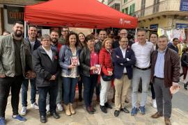 El PSIB-PSOE promete ayudar a los pequeños comerciantes