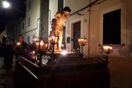 Alerta en la procesión del Jueves Santo en Sineu