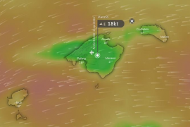 EN DIRECTO | Temporal de viento en Mallorca