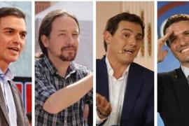El debate en RTVE el próximo lunes lo empezará Rivera y lo cerrará Sánchez