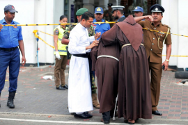 Explosiones en Sri Lanza