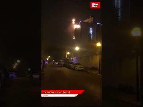 Alarma en un hotel de Palma por el incendio en un ascensor