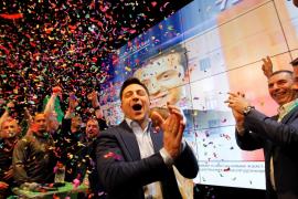 El cómico Zelenski gana las presidenciales en Ucrania