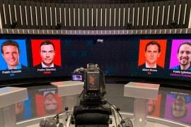 Todo a punto para el primer debate electoral