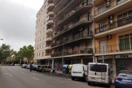 Una cámara grabó a los autores de la última quema de contenedores en Palma