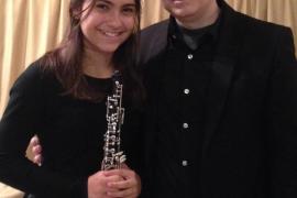 Concierto para oboe y piano de Carlos y Lorena Bonnin en Fàbrica Ramis