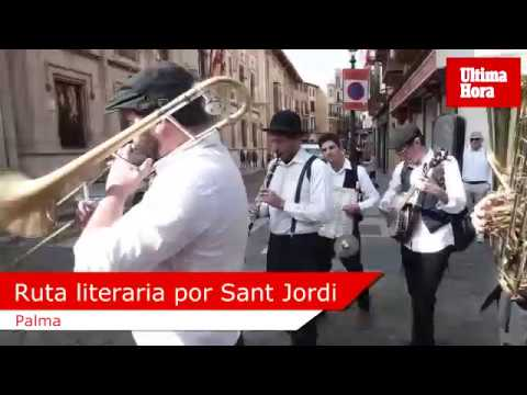 Sant Jordi: La gran fiesta del libro en Palma