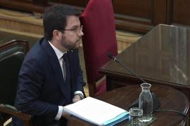 Pere Aragonès rechaza declarar ante el tribunal