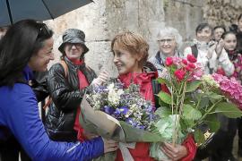 Magdalena Socias, tras cumplir el reto Metástasis: «La montaña me ayuda a evadirme y a olvidar»