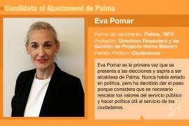 Eva Pomar, la candidata que más se ha hecho esperar