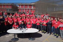 Los bomberos de Palma elaboran un paquete de medidas urgentes