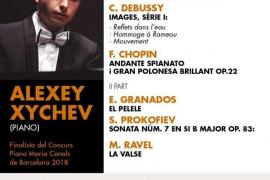 El pianista Alexey Sychev da inicio al Festival Pianino 2019 en Valldemossa