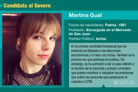 Martina Gual, la primera trans que encabezará una lista en Baleares