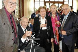 Josef y Elfy Egger celebran sus bodas de platino