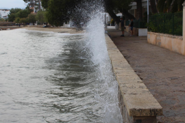 Viento fuerte en Baleares para este jueves