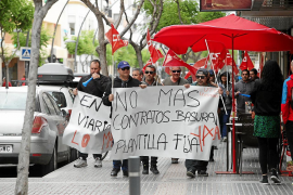 Los trabajadores del vertedero iniciarán una huelga en julio si no mejoran sus condiciones