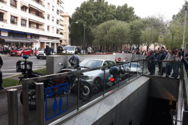 Despliegue policial en Palma