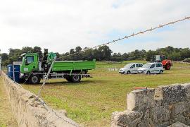 La propiedad del parking de ses Covetes tiene un año para regenerar la zona degradada