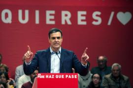 Sánchez asegura que no quiere que la gobernabilidad descanse en los independentistas