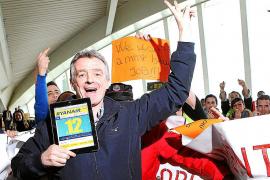 El presidente de Ryanair se ríe de los trabajadores despedidos de Spanair