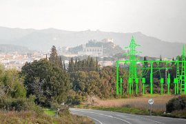 El Govern pide la retirada de la línea eléctrica Artà-Bessons