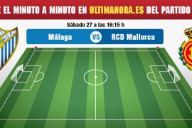 Málaga-Real Mallorca, en directo