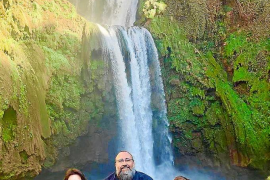 Joshua Roibal y su familia ya están en Turquía