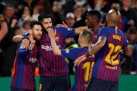 Messi proclama campeón al Barcelona