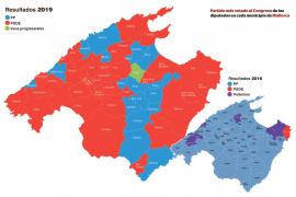 El PSOE se impone en la Part Forana ante la debacle del PP