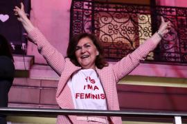 La oda al feminismo de Carmen Calvo