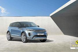 El Range Rover Evoque consigue la máxima calificación de EuroNCAP