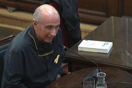 Lluís Llach en el juicio del procés.