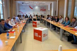 Reunión del PSIB-PSOE