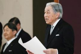 Akihito, en su ceremonia de abdicación: «Me siento afortunado de haber ejercido como emperador»
