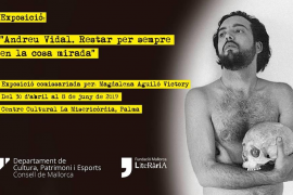El Centre Cultural La Misericòrdia alberga la exposición 'Andreu Vidal, resar per sempre en la cosa mirada'