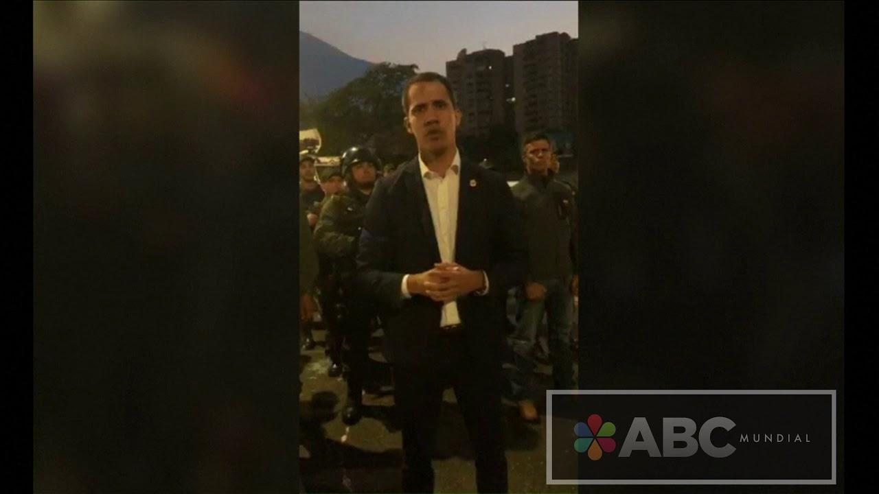 Este ha sido el mensaje de Guaidó al pueblo de Venezuela