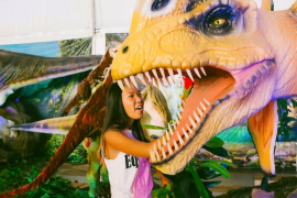 La exposición de dinosaurios animatrónicos 'Dinosaurs Tour' aterriza en Son Fusteret
