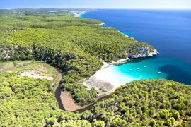 Tres playas de Baleares, entre las cinco mejores del España «solo accesibles en barco»