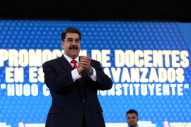 Maduro afirma que cuenta con la «total lealtad» de los jefes militares