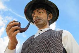 Gegants i Capgrossos, fumador de pipa.