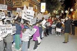 Padres y alumnos del IES Sant Marçal se movilizan contra las precarias instalaciones