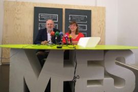 Miquel Ensenyat y Bel Busquets, candidatos de Més