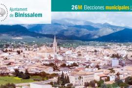 Lista de candidatos de Més per Mallorca-APIB al Ajuntament de Binissalem