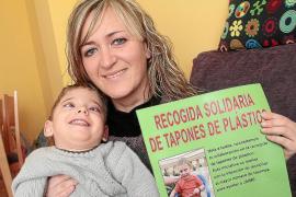 Recogida solidaria de tapones de plástico para ayudar al pequeño Jaume