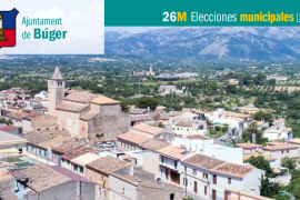 Lista de candidatos al Ajuntament de Búger
