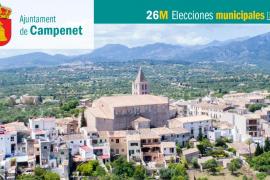 Lista de candidatos de Més per Mallorca-APIB al Ajuntament de Campanet